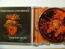 LUTHER WRIGHT & THE WRONGS GUITAR PICKIN MARTYRS - FREEPOST CD