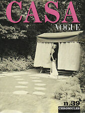 Italian CASA VOGUE #39 Chronicles BRUCE WEBER Rivkah Young MICHEL DEVERNE @NEW@