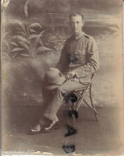 WW1 soldier L/Cpl William Geo Painter 5th Battalion Wiltshire Regiment puggaree