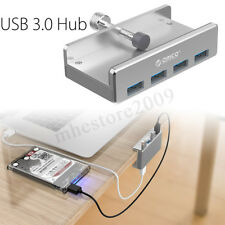 ORICO 4 Ports USB 3.0 HUB 5Gbps Monitor Table Clip-type For Apple iMac PC