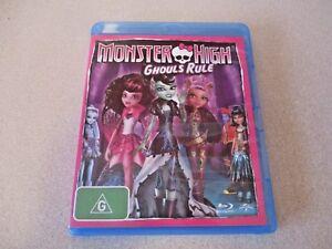 Monster High Ghouls Rule Blu-ray