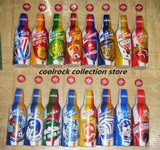 2020 China Tsingtao beer football club 16 aluminium bottles set 355ml empty