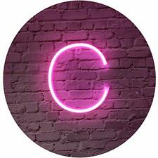 Pink Neon LED Word Signs Night Light Marquee Neon Letters Art Decorative Lamp