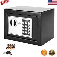 Large Digital Electronic Safe Box Keypad Lock Cash Gun Security Home Office+Key