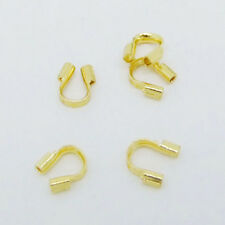 100pcs Wire Guardian Protectors Crimp loops Jewelry Findings 4x5mm Wholesale