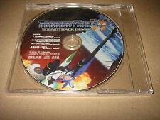 Thunder Force VI PS2 Sega SOUNDTRACK DEMO DISC NOT SOLD