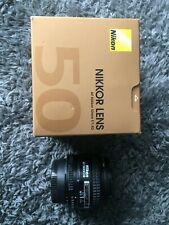 nikon nikkor af 50 mm f/1.4 d lens