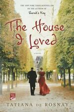 The House I Loved by Tatiana de Rosnay (2012, Paperback)