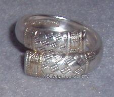 Wallace 1971 Golden Aegean Weave Sterling Bride Gift Spoon Ring SZ 6