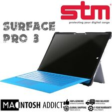 STM Dux Clear TPU Rugged Cover Case For Microsoft Surface Pro 3 | Military Std