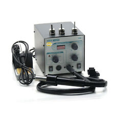 QUICK 706W Digital SMD BGA Hot Air Gun + Soldering Iron Lead-free Rework Station