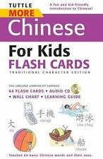 Tuttle More Chinese for Kids Flash Cards Traditional Edition: [Includes 64 Flash