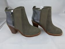 Matt Bernson NEW Grey Womens Size 6 Fashion Ankle Leather & Suede Boots $300