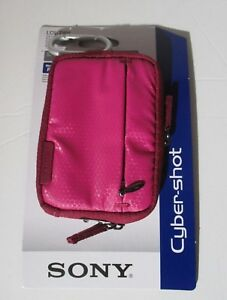Sony Cyber-shot Soft Pink Carrying Case LCS-TWH