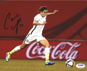 CARLI LLOYD AUTHENTIC AUTOGRAPHED SIGNED 8X10 PHOTO TEAM USA PSA/DNA ITP 93087