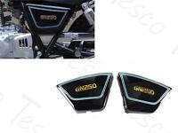 1982-2001 Right & Left Black Frame Side Cover Fairing Panel For Suzuki GN250