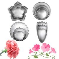 Stainless Steel Flower Petal Biscuit Pastry Cookie Cutter Cake Decor Mold Tool