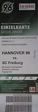 TICKET 2014/15 Hannover 96 - SC Freiburg