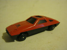 Small Plastic Red GS Construction Car, unknown brand or date (EB7-17)