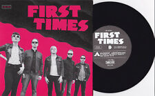 """First Times - S/T 7"""" Hard Action Splits Toxics Lariots Finland Power Pop Punk"""