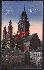 Mainz-Dom von Süden-kunstkarte-Darmstadt-Hessen-3