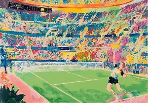 "LEROY NEIMAN LIMITED EDITION SERIGRAPH ""VOLVO MASTERS"" HAND SIGNED ~ SN 119/300"
