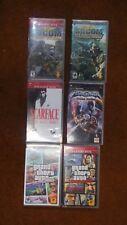 Lot of 6 PSP Games 2 SOCOM Games, Scarface, Soul Calibur, 2 GTA Games