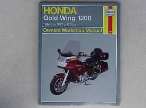 1984-1987 Honda Gold Wing Goldwing GL 1200 HAYNES REPAIR MANUAL 2199