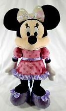 """New listing Disney Clubhouse Fun Minnie Mouse Talking Light Up Bowtique 15"""" Character Plush"""