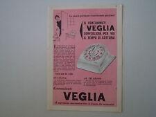 advertising Pubblicità 1958 CONTAMINUTI VEGLIA BORLETTI