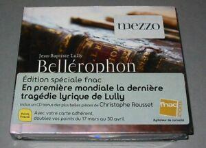 LULLY  Christophe ROUSSET  BELLEROPHON  EDITION SPECIALE 2CD+ BONUS  NEUF SCELLE