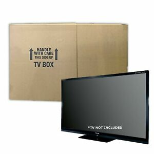 """Uboxes TVMOVEBOXES2 TV Moving Box Flat Screen Fits TV's 32"""" to 70"""" Adjustable..."""