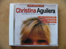 The Music of Christina Aguilera performed by Angela D'Amato Album CD