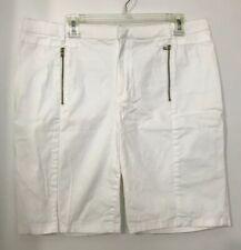 Sofia Vergara Womens Size 16 White Spring Summer Dress Shorts