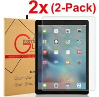 2-Pack Tempered Glass Screen Protector Cover For iPad 10.2 inch 2019 7th Gen /rr