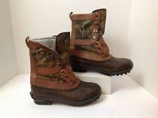 Vintage Red Ball Steel Shank Weather Proof Winter Boots Men's Size 8