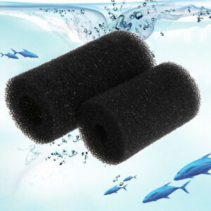 5x Sponge Aquarium Filter Protector Covers For Fish Tank Inlet Pond Foam Black