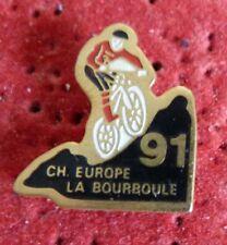 BEAU PIN'S VELO BICROSS VTT CHAMPIONNAT D'EUROPE LA BOURBOULE 91