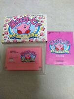 NES Soft Nintendo [Kirby Of The Stars] JAPAN Used Box with Manual JP