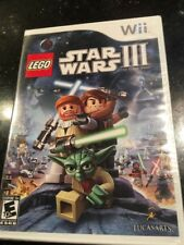 LEGO Star Wars III: The Clone Wars (Nintendo Wii, Brand New Factory Sealed