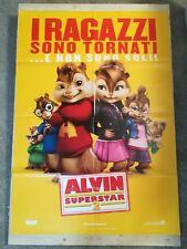 ALVIN SUPERSTAR 2 Manifesto Film 2F Poster Originale Cinema 100x140