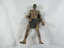 "Aboriginal native warrior action figure 3.75"" face war paint loincloth"
