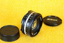 Nikon Nikkor 50mm 1:1,8 AIS Pancake FX Full Frame Lens  WIE NEU