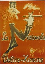 Original Plakat - La Nazionale - Délice-Havane