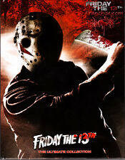 Friday The 13th The Ultimate Collection (DVD) + Crystal Lake Memories:(DVD) NEW