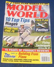 RC MODEL WORLD MAGAZINE APRIL 1999 - FIELD TEST GMS 76