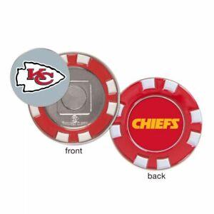 Kansas City Chiefs Poker Chip Golf Ball Marker