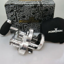 Poseidon 50sl Jigging Reel Right Adjustable Handle Sil/gsk 2days FedEx to USA