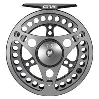 Goture CNC Machined Fly Fishing Reel 3/4 5/6 7/8 9/10WT Large Arbor Freshwater