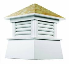 """Kent Vinyl Cupola with Wood Roof 18"""" x 22"""""""